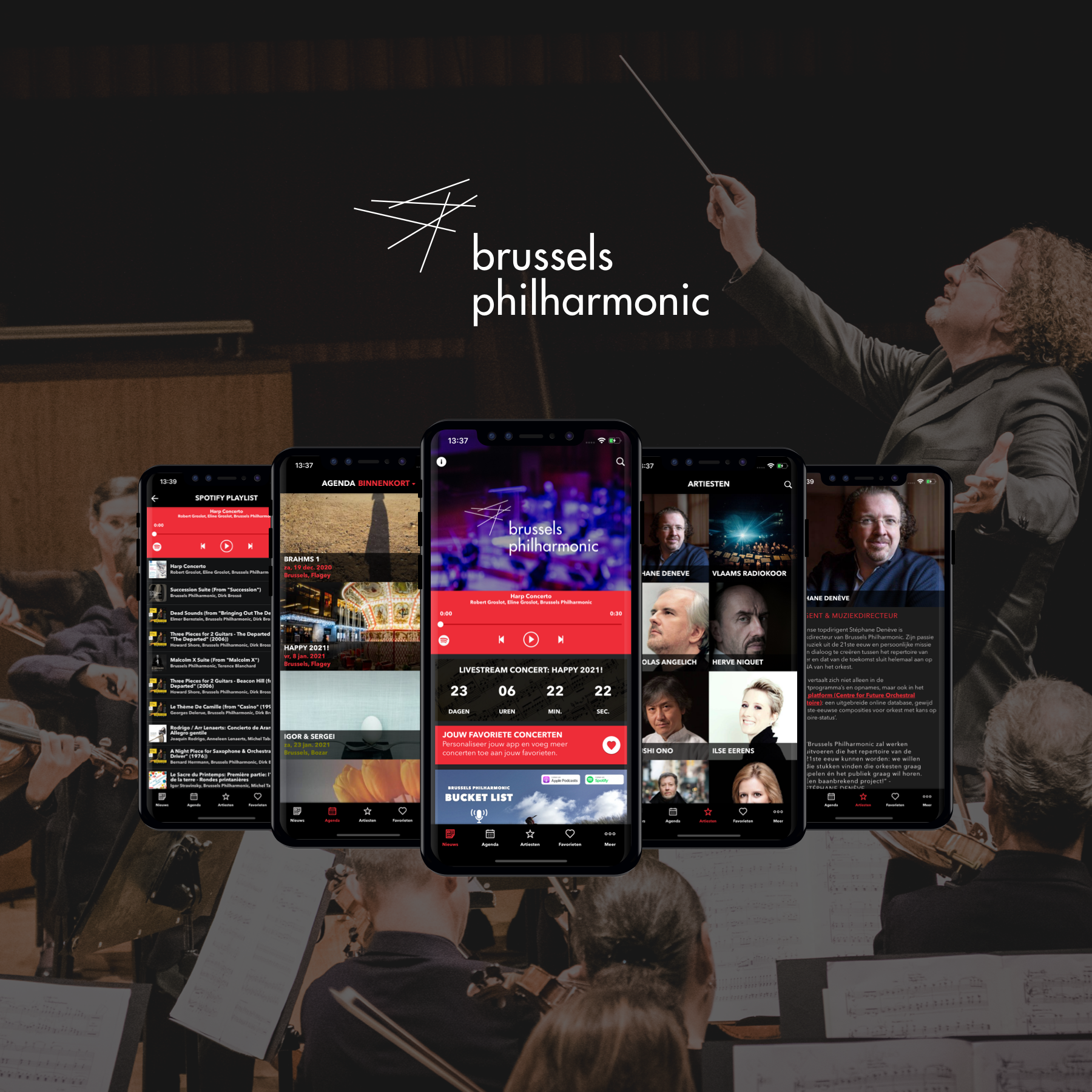 USE CASE : Brussels Philharmonic Launches Its Own App